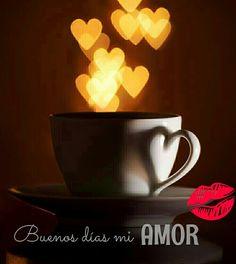 buenos dias mi amor beso