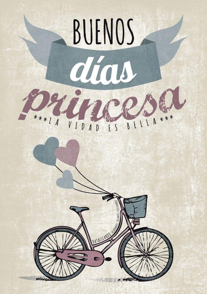Princesa buenos dias