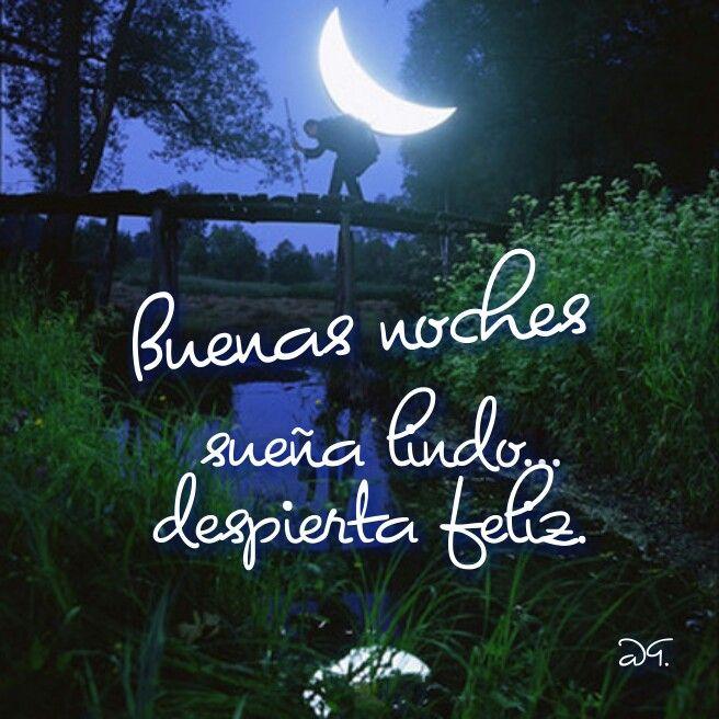 Buenas noches sueña lindo