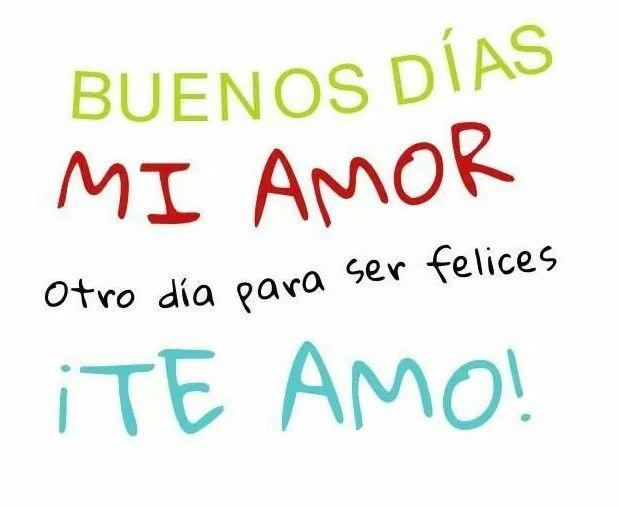 Mi amor te amo