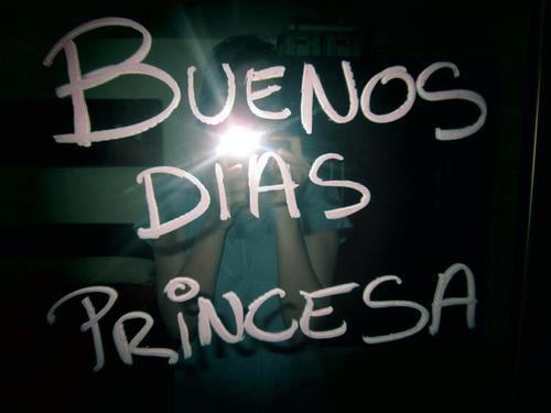 Mensaje de Buenos dias Princesa