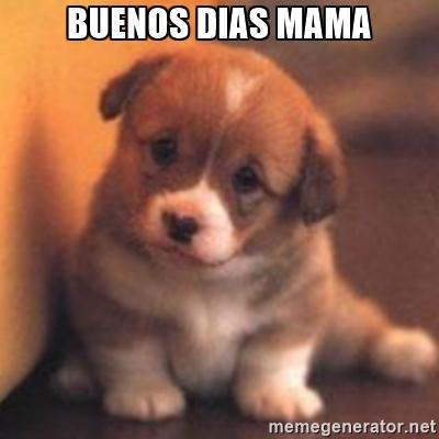 Buenos dias mama