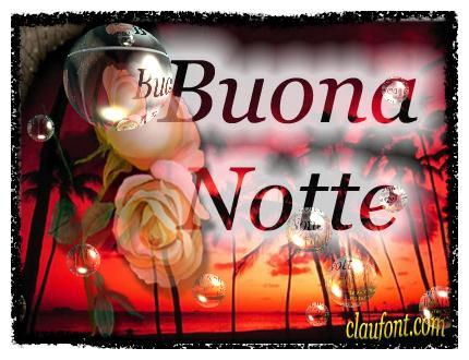 Buenas noches en Italiano