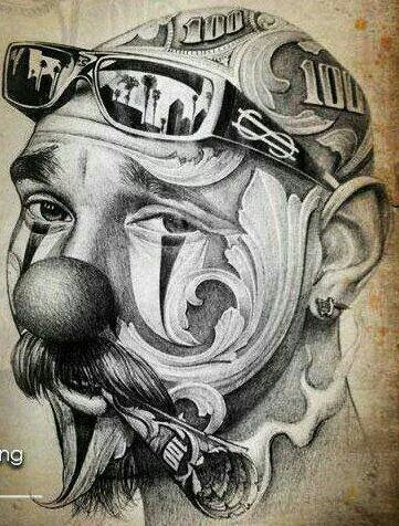 30 imagenes de cholos low rider azteca homies for Things tattoo artists love