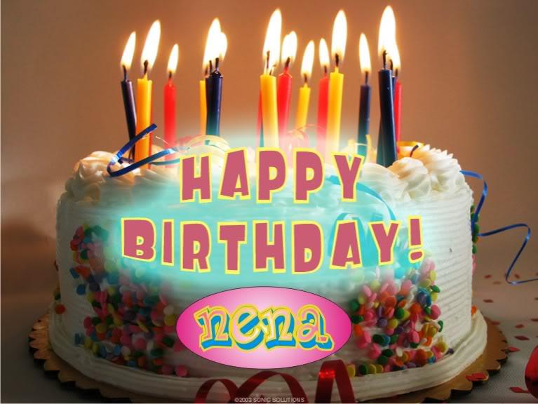 Feliz cumpleaños Nena