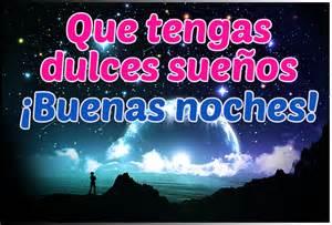 Dulces sueños buenas noches