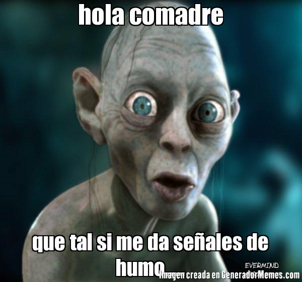 Hola comadre