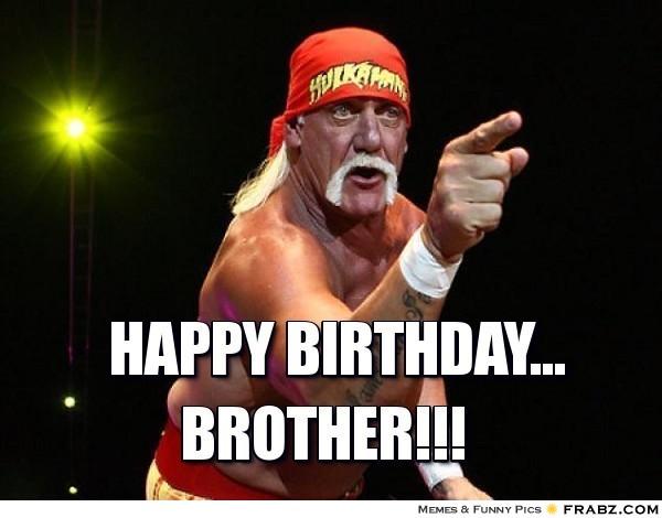 Feliz cumpleaños Brother
