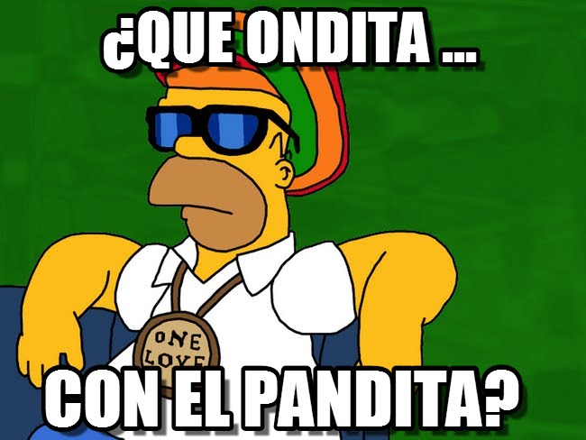 Saludo de que Onda con Homero