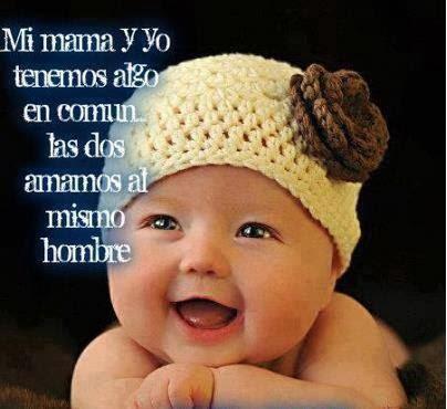 Bonita frase de un bebe