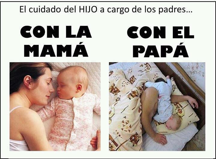 Frase graciosa con bebe