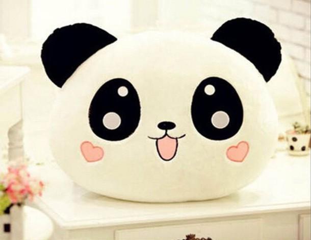 Cabeza de oso panda Kawaii