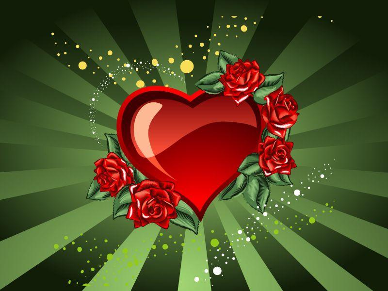 118 Imagenes de Corazones Románticos para enamorados