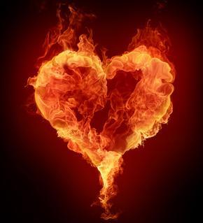 Corazon en fuego