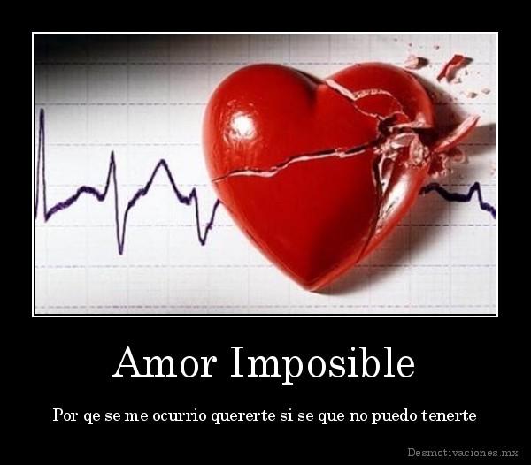 Corazon de amor imposible