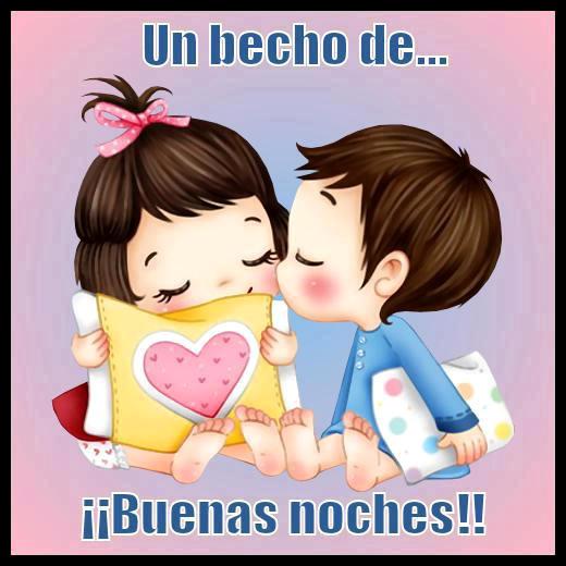 Beso de buenas noches