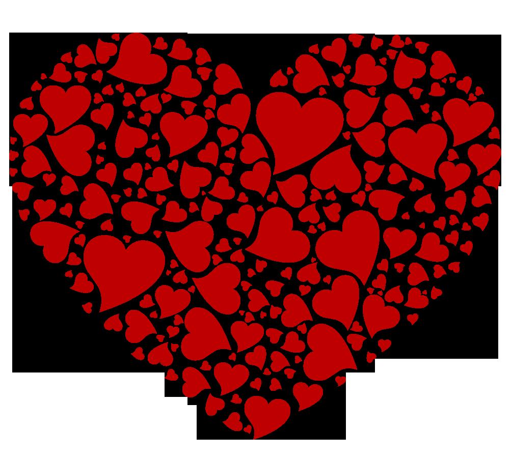 corazones fondo transparente