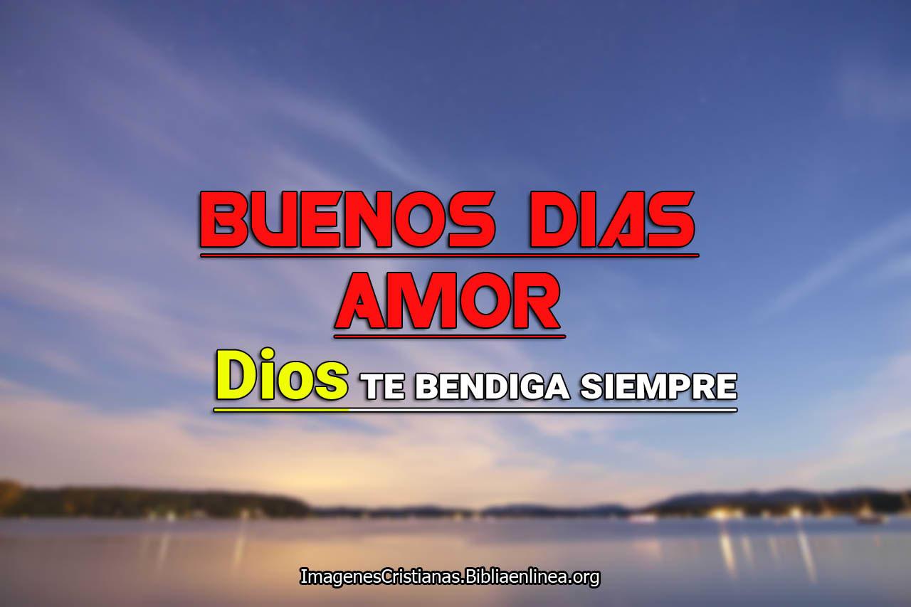 Te amo dios te bendiga