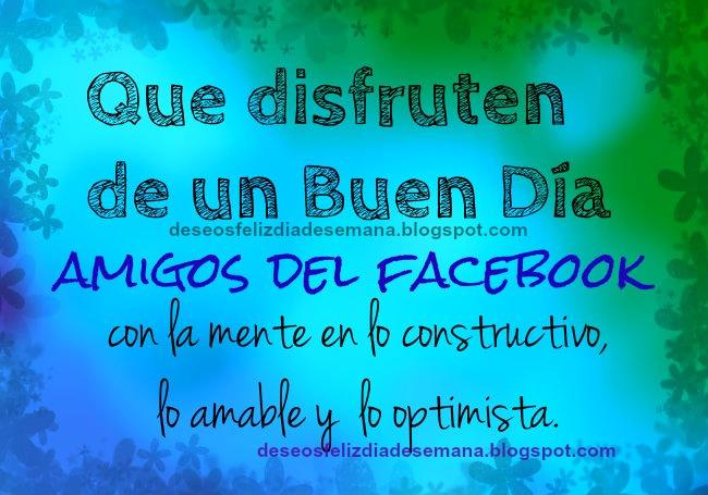Buenos dias Facebook