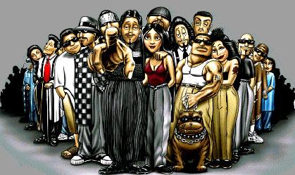 grupo Cholos y cholas