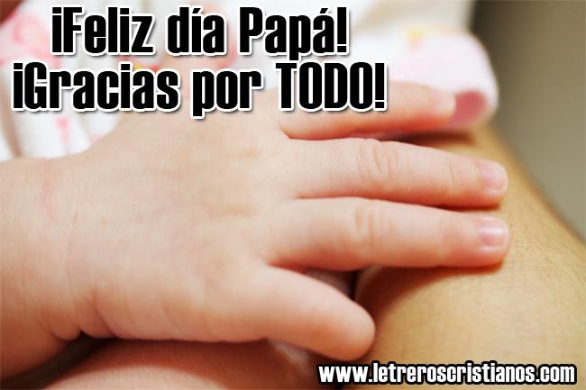 Papa gracias por todo