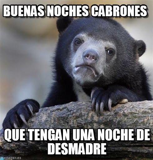 Memes de Buenas noches