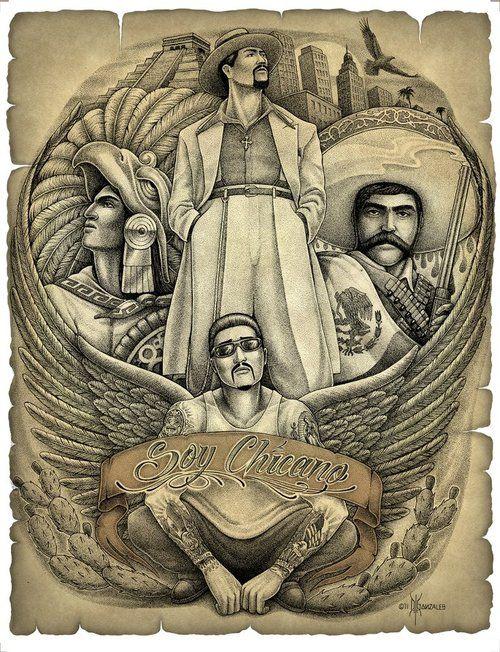 Cholos chicanos mexicanos