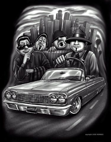 Homies carro low rider