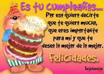 Saludos en tu cumpleaños