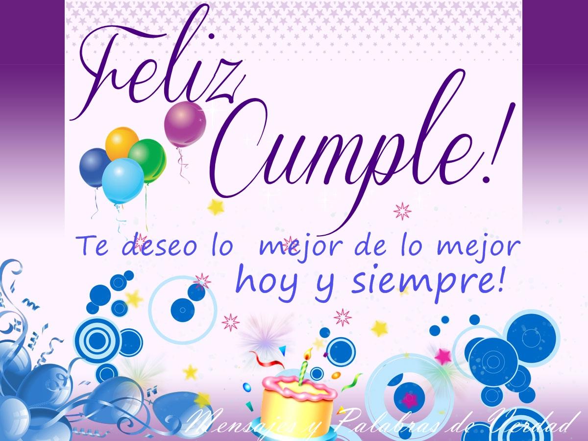 Saludo en tu cumpleaños