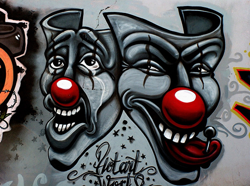 Payasos joker cholos