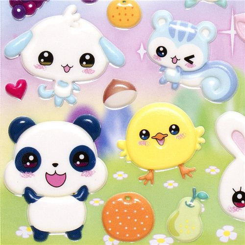 Animales tiernos Kawaii