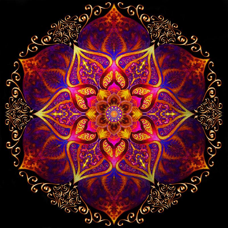 Mandala de fuego